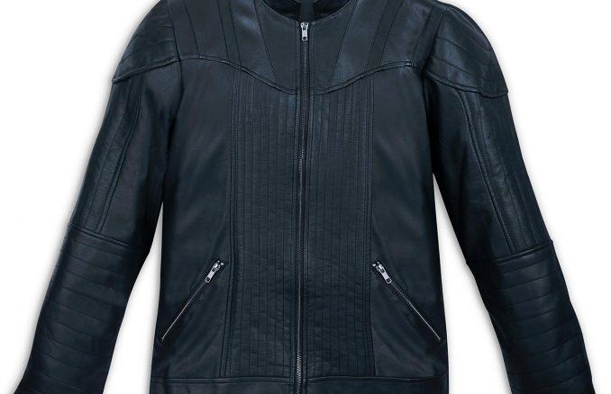Darth Vader Faux Leather Men Racer Jacket