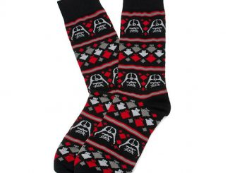 Darth Vader Holiday Dress Socks