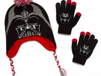 Darth Vader Kids Peruvian Hat and Glove Set