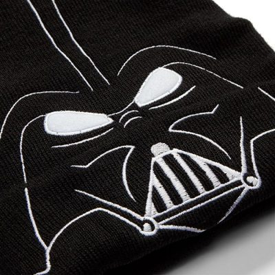 Darth Vader LED Light Up Beanie Detail