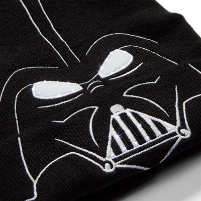 Darth Vader LED Light Up Beanie Lit
