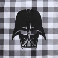 Darth Vader Plaid Button-Down Shirt