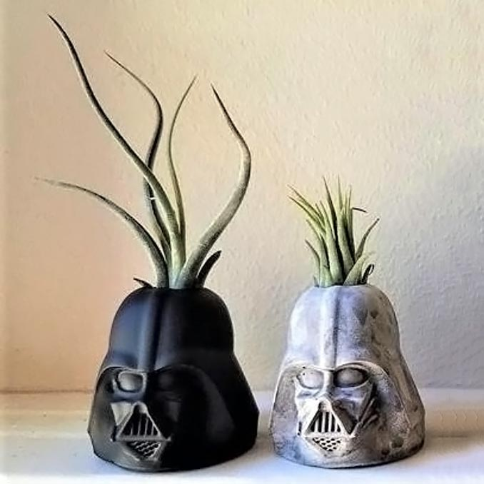 Darth Vader Planters