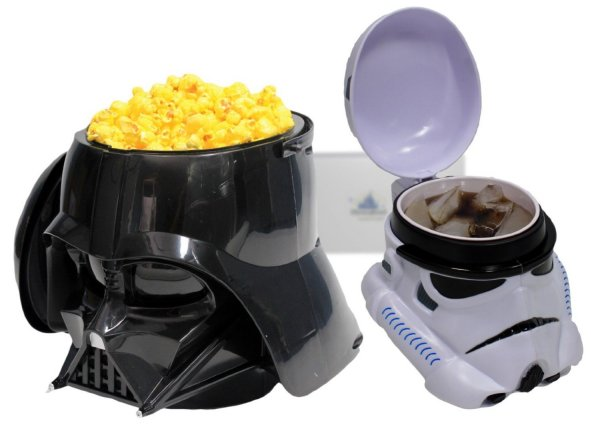 Darth Vader Popcorn Bucket Stormtrooper Drink Stein Mug Set