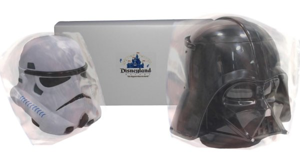 Darth Vader Popcorn Bucket Stormtrooper Drink Stein Mug Set1