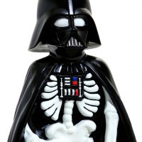 Darth Vader Skeleton Garden Statue Detail
