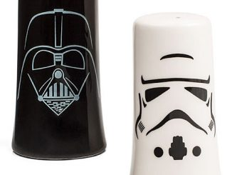 Darth Vader & Stormtrooper Salt & Pepper Shakers