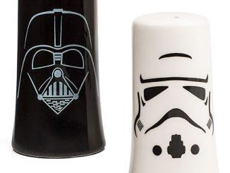 Darth Vader & Stormtrooper Salt & Pepper Shakers