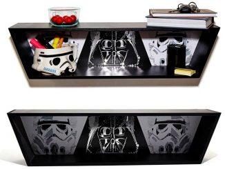 Darth Vader Stormtrooper Shelf