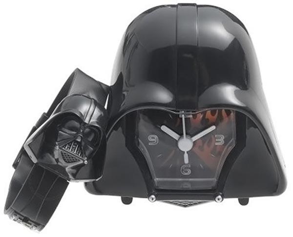 Darth Vader Watch Clock Set