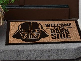 Darth Vader Welcome To The Dark Side Doormat