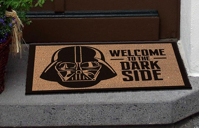Welcome To The Dark Side Doormat