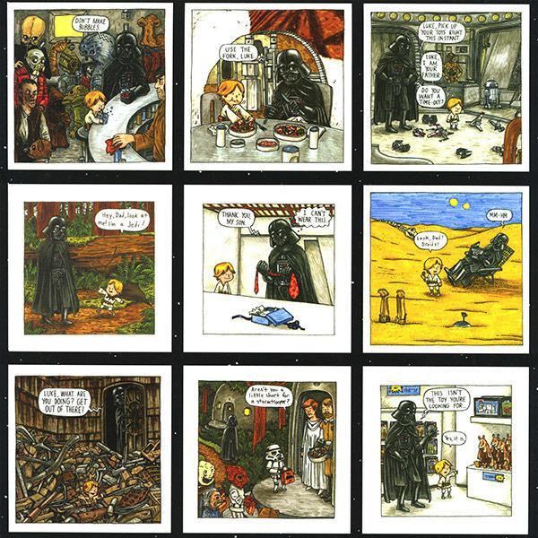 Darth Vader and Son 2014 Calendar