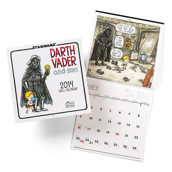 Darth Vader and Son 2014 Wall Calendar