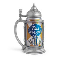 Das Can in Stein Beer Can Stien