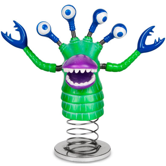 Dashboard Monster Bobble Head
