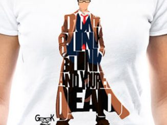 David Tennant Doctor Who Dont Blink T-Shirt