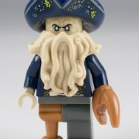 Davy Jones - The Black Pearl LEGO set