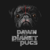 Dawn of the Planet of the Pugs Shirt