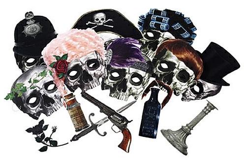 Dead Dinner Guest Masks