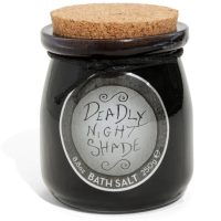 Deadly Night Shade Bath Salt Jar
