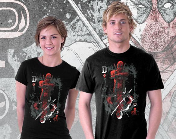 Deadpool Ace of Wades Shirt