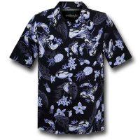 Deadpool Aloha Button-Down Shirt
