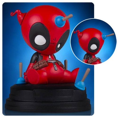Deadpool Animated Statue