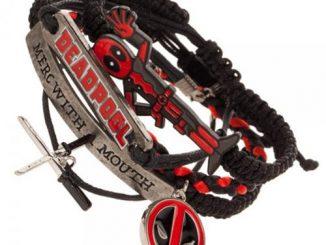 Deadpool Arm Party Bracelet Set