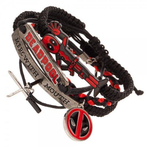 Deadpool Arm Party Bracelet Set