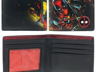 Deadpool Bi-Fold Wallet with Metal Logo