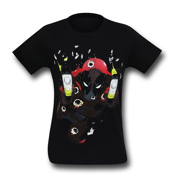 Deadpool Blam Blam Blam Glow-In-The-Dark T-Shirt