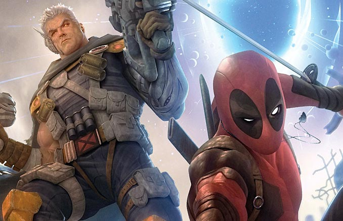 Deadpool & Cable Limited Edition Art Print