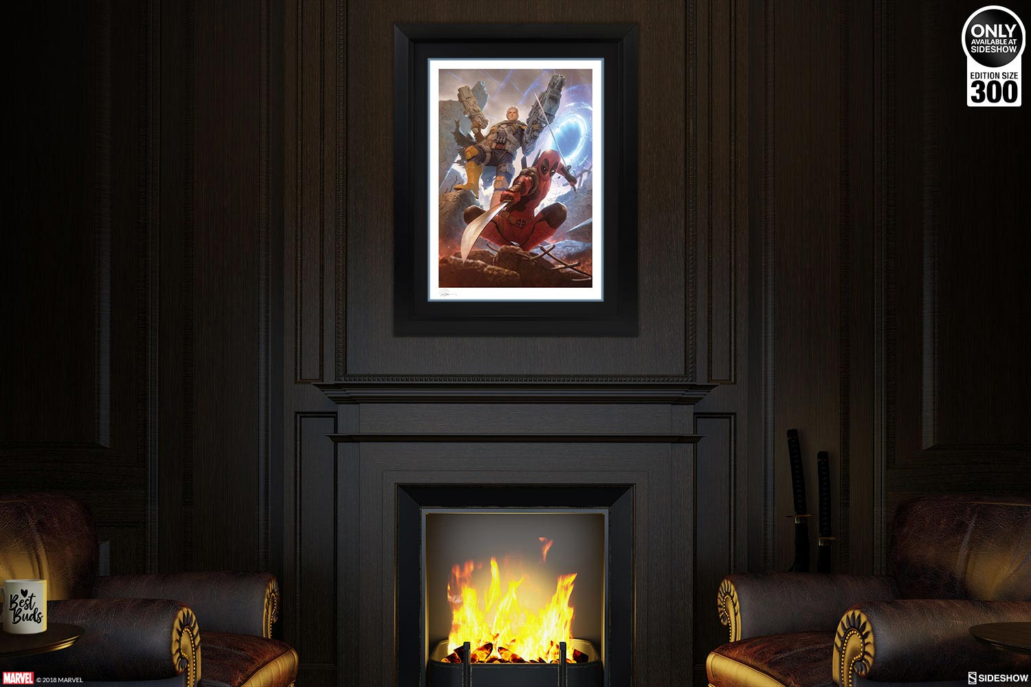 Deadpool u0026 Cable Limited Edition Art Print & Charming Cable Wall Art Pictures - Best Image Engine - afyongmh.com