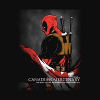Deadpool Canadian Mercenary Shirt