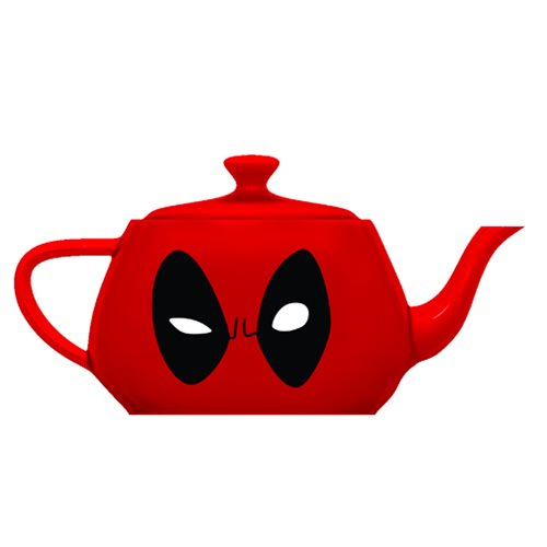 Deadpool Ceramic Tea Pot