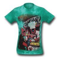 Deadpool Chimichangerous Tie-Dye T-Shirt