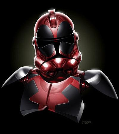 Deadpool Clone trooper