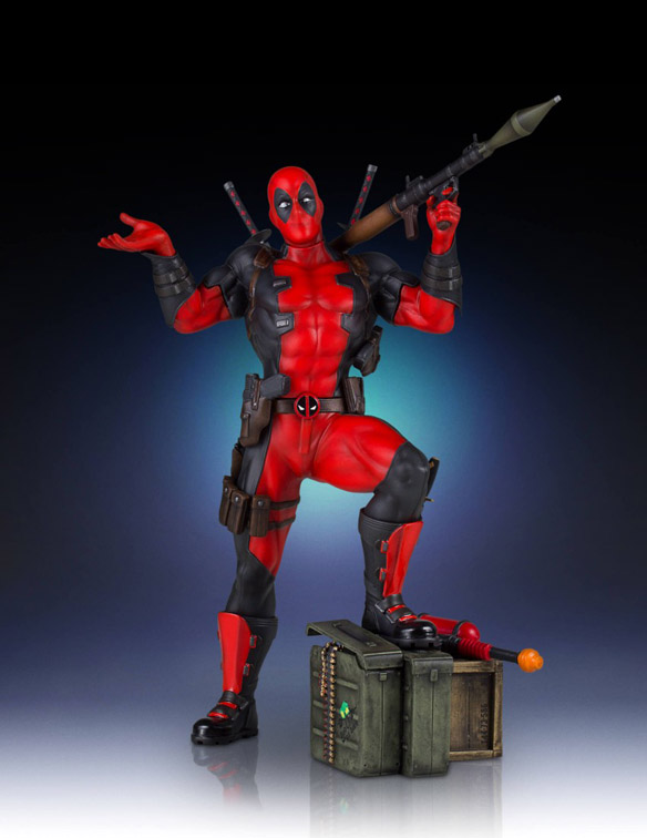 Deadpool Collectors Gallery Statue