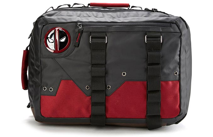 Deadpool Convertible Tactical Backpack