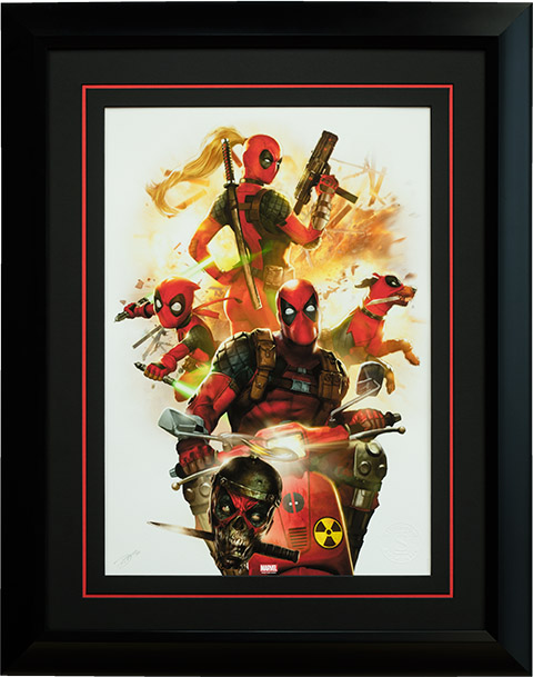 Deadpool Corps Premium Art Print