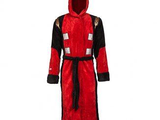 Deadpool Costume Fleece Robe