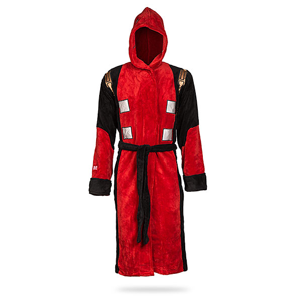 Deadpool Costume Fleece Robe