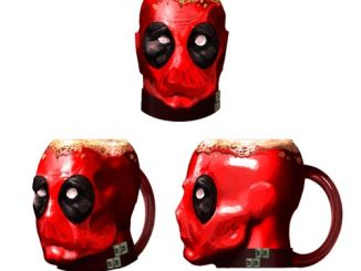 Deadpool Crazy Marvel Molded 16 oz. Mug