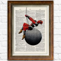 Deadpool Dictionary Art Print