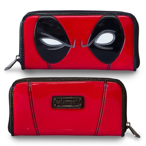 Deadpool Eyes Zip-Around Wallet