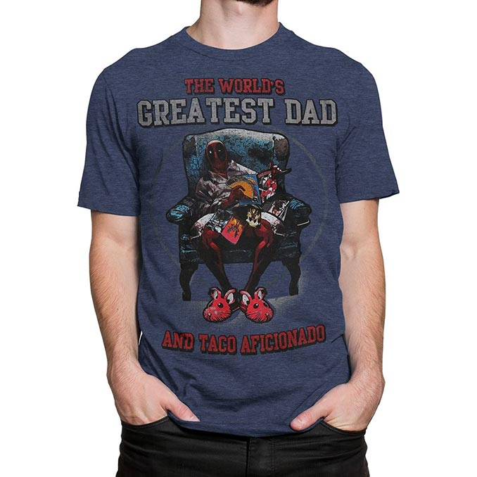 Deadpool Greatest Dad T-Shirt