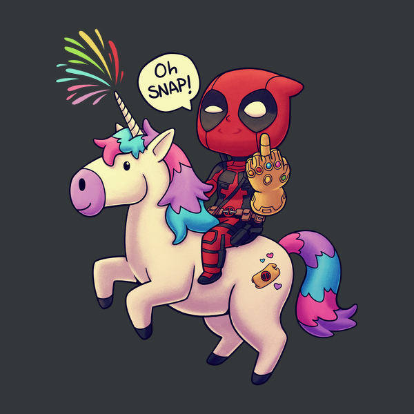 Deadpool Infinity Chimichanga T Shirt