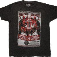 Deadpool Kills Deadpool Battle Flyer T-Shirt