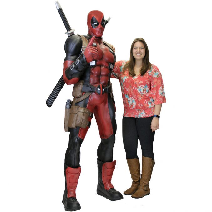 Deadpool Life-Size Foam Replica Statue